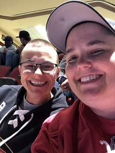 Cathie attended Arizona Coyotes vs. Vancouver Canucks - NHL on Oct 25th 2018 via VetTix