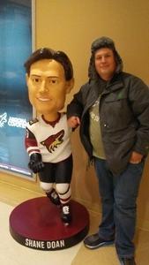 Daniel attended Arizona Coyotes vs. Vancouver Canucks - NHL on Oct 25th 2018 via VetTix