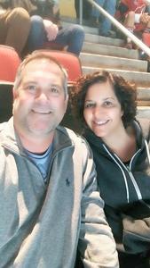 Tony attended Arizona Coyotes vs. Vancouver Canucks - NHL on Oct 25th 2018 via VetTix