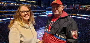 Casey attended Arizona Coyotes vs. Vancouver Canucks - NHL on Oct 25th 2018 via VetTix