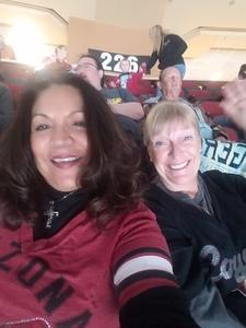 Linda attended Arizona Coyotes vs. Vancouver Canucks - NHL on Oct 25th 2018 via VetTix