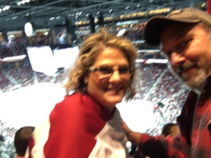 Michael attended Arizona Coyotes vs. Vancouver Canucks - NHL on Oct 25th 2018 via VetTix