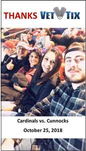 Charles attended Arizona Coyotes vs. Vancouver Canucks - NHL on Oct 25th 2018 via VetTix