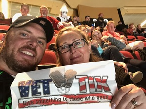 Mike attended Arizona Coyotes vs. Vancouver Canucks - NHL on Oct 25th 2018 via VetTix