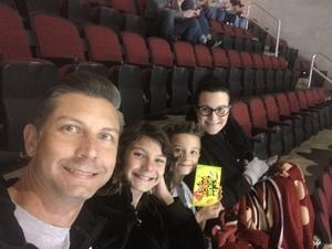 Gerald attended Arizona Coyotes vs. Vancouver Canucks - NHL on Oct 25th 2018 via VetTix