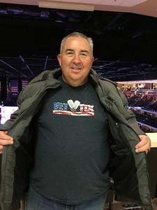 Jerome attended Arizona Coyotes vs. Vancouver Canucks - NHL on Oct 25th 2018 via VetTix