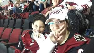 Jason attended Arizona Coyotes vs. Vancouver Canucks - NHL on Oct 25th 2018 via VetTix