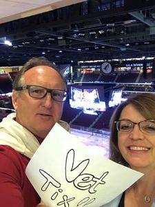 Donald attended Arizona Coyotes vs. Vancouver Canucks - NHL on Oct 25th 2018 via VetTix
