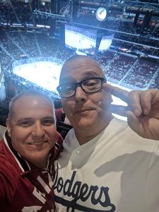 Mikel attended Arizona Coyotes vs. Vancouver Canucks - NHL on Oct 25th 2018 via VetTix