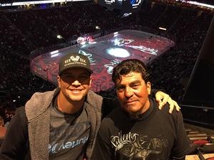 Johnathan attended Arizona Coyotes vs. Vancouver Canucks - NHL on Oct 25th 2018 via VetTix