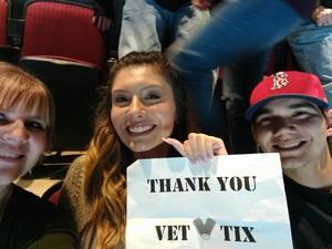 Manuel attended Arizona Coyotes vs. Vancouver Canucks - NHL on Oct 25th 2018 via VetTix