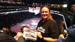 Lindsay attended Arizona Coyotes vs. Vancouver Canucks - NHL on Oct 25th 2018 via VetTix