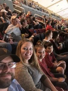Thomas attended Arizona Coyotes vs. Vancouver Canucks - NHL on Oct 25th 2018 via VetTix
