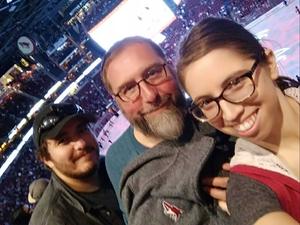 Mike B attended Arizona Coyotes vs. Vancouver Canucks - NHL on Oct 25th 2018 via VetTix