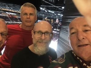 Mitch attended Arizona Coyotes vs. Vancouver Canucks - NHL on Oct 25th 2018 via VetTix