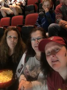Paula attended Arizona Coyotes vs. Vancouver Canucks - NHL on Oct 25th 2018 via VetTix