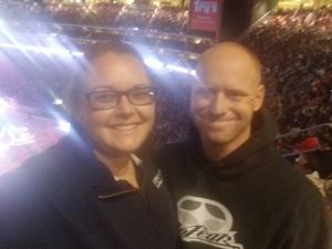 John attended Arizona Coyotes vs. Vancouver Canucks - NHL on Oct 25th 2018 via VetTix