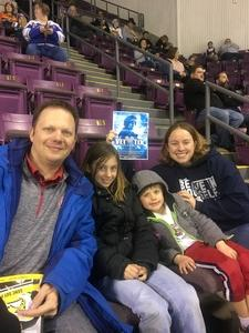 Megan attended Colorado College Tigers vs. Miami University - NCAA Hockey on Nov 16th 2018 via VetTix