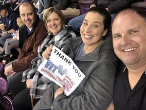 Kenneth attended Colorado College Tigers vs. Miami University - NCAA Hockey on Nov 16th 2018 via VetTix