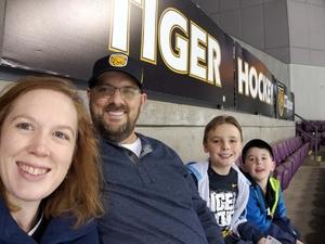 Matthew attended Colorado College Tigers vs. Miami University - NCAA Hockey on Nov 16th 2018 via VetTix