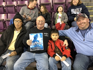 John attended Colorado College Tigers vs. Miami University - NCAA Hockey on Nov 16th 2018 via VetTix