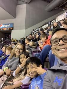 Rodolfo attended Colorado College Tigers vs. Miami University - NCAA Hockey on Nov 16th 2018 via VetTix