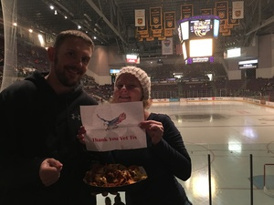Jennifer attended Colorado College Tigers vs. Miami - NCAA Hockey on Nov 17th 2018 via VetTix
