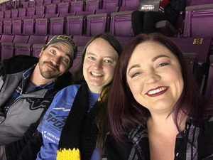 Amanda attended Colorado College Tigers vs. Miami - NCAA Hockey on Nov 17th 2018 via VetTix
