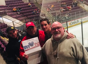 William attended Colorado College Tigers vs. Miami - NCAA Hockey on Nov 17th 2018 via VetTix