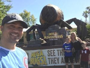 Brian attended Kid-o-ween at Wild Adventures - 1 Ticket Valid for 4 People on Oct 13th 2018 via VetTix