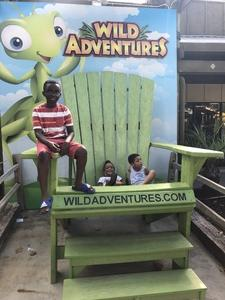 Shatrice attended Kid-o-ween at Wild Adventures - 1 Ticket Valid for 4 People on Oct 13th 2018 via VetTix