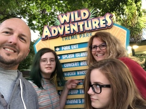 Michael attended Kid-o-ween at Wild Adventures - 1 Ticket Valid for 4 People on Oct 13th 2018 via VetTix