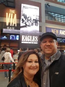 Andrew attended Eagles - Live on Oct 14th 2018 via VetTix