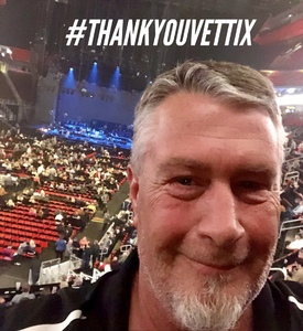 Donald attended Eagles - Live on Oct 14th 2018 via VetTix