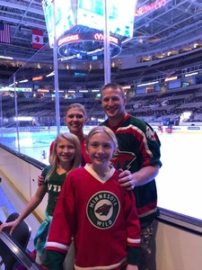 Justin attended San Jose Sharks vs. Minnesota Wild - NHL on Nov 6th 2018 via VetTix