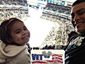 Will attended San Jose Sharks vs. Minnesota Wild - NHL on Nov 6th 2018 via VetTix