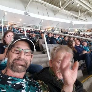 Earl attended San Jose Sharks vs. Minnesota Wild - NHL on Nov 6th 2018 via VetTix
