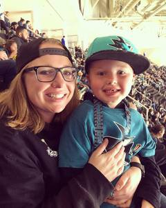 Christina attended San Jose Sharks vs. Minnesota Wild - NHL on Nov 6th 2018 via VetTix