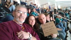 george attended San Jose Sharks vs. Minnesota Wild - NHL on Nov 6th 2018 via VetTix