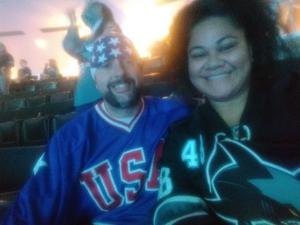 SGT WINTON attended San Jose Sharks vs. Minnesota Wild - NHL on Nov 6th 2018 via VetTix
