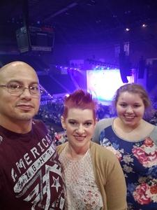 Agapito & Ashley attended Jake Owen - Life's Whatcha Make It Tour - Country on Nov 3rd 2018 via VetTix