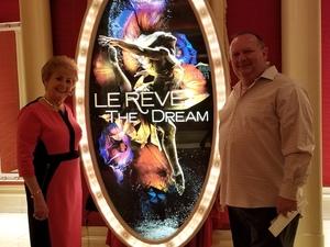 David attended Le Reve on Oct 15th 2018 via VetTix
