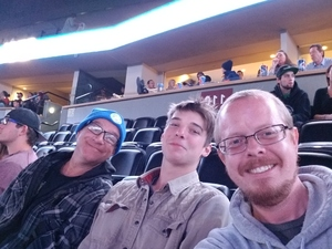 Timothy attended Nitro Circus- You Got This Tour on Oct 16th 2018 via VetTix