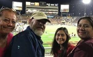 David attended Arizona State Sun Devils vs. Stanford - NCAA Football on Oct 18th 2018 via VetTix