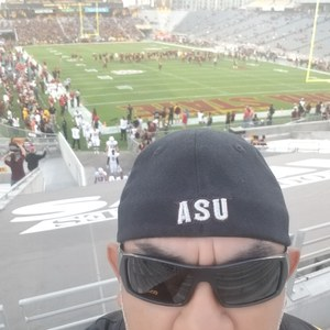 Joel attended Arizona State Sun Devils vs. Stanford - NCAA Football on Oct 18th 2018 via VetTix