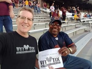 Scott attended Arizona State Sun Devils vs. Stanford - NCAA Football on Oct 18th 2018 via VetTix