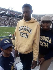 Jim Carlisle attended Georgia Tech Yellow Jackets vs. Virginia Cavaliers - Honor Row - Time TBA - NCAA Football on Nov 17th 2018 via VetTix
