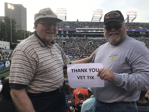 Gerald attended Georgia Tech Yellow Jackets vs. Virginia Cavaliers - Honor Row - Time TBA - NCAA Football on Nov 17th 2018 via VetTix