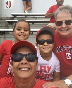 Teresa attended NC State Wolfpack vs. East Carolina - NCAA Football on Dec 1st 2018 via VetTix