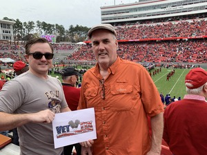 James attended NC State Wolfpack vs. East Carolina - NCAA Football on Dec 1st 2018 via VetTix